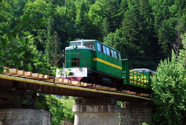 Карпатський Трамвай і Скелі Довбуша