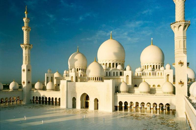 Біла мечеть шейха Зайда в Абу-Дабі