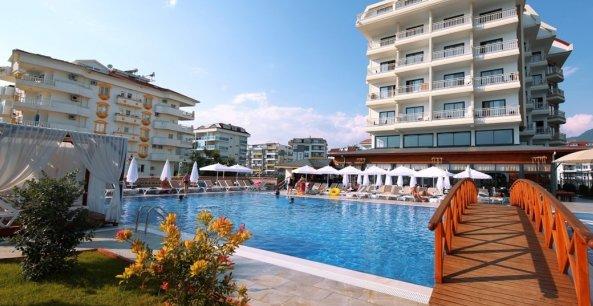 Туреччина, класний SEY BEACH HOTEL & SPA 4*